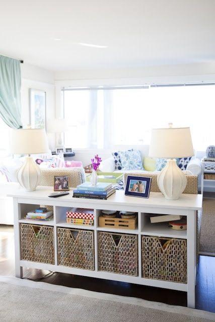 60 Simple But Smart Living Room Storage Ideas | Living room sofa .