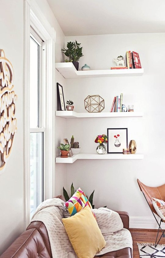 simple but smart living room storage ideas | Apartment living room .