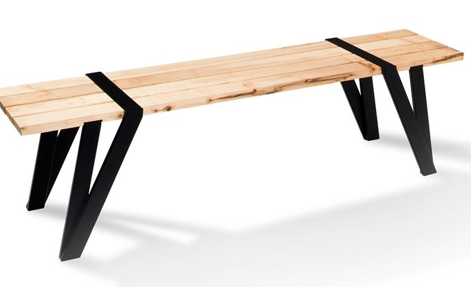Beautiful Simple Dining Table And Bench By Manuel Welsky | Mesa .