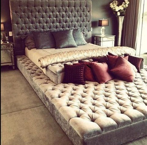 10 Simple Ideas To Refresh The Foot Of Your Bed | Eternity bed .