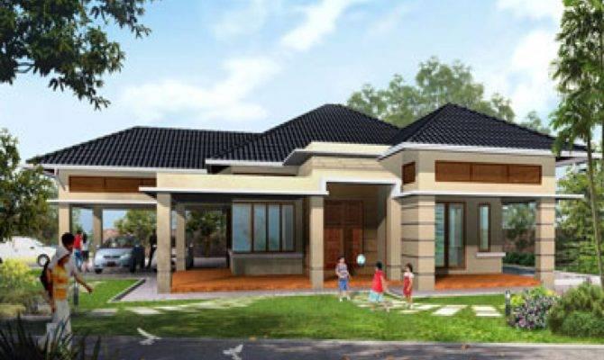 Modern House Design Single Storey - Home Plans & Blueprints | #968