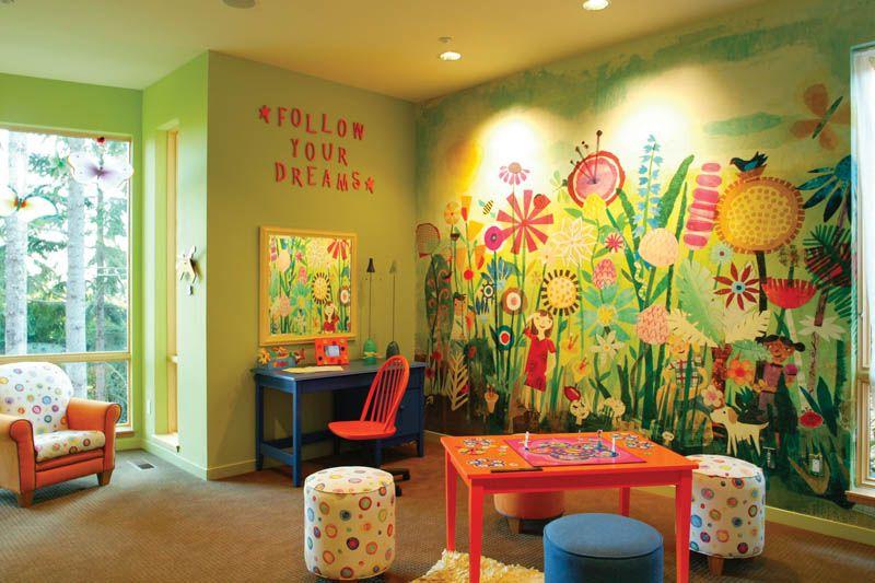 House Plan 011S-0018 | Sala de juegos para niños, Sala de juegos .