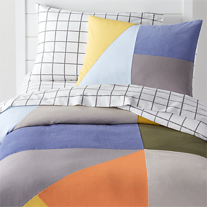 Modern Geo Twin Duvet Cover + Reviews | Crate and Barr