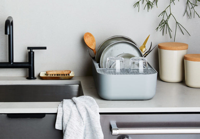 10 Easy Pieces: Space-Saving Dish Rack for Small Kitche