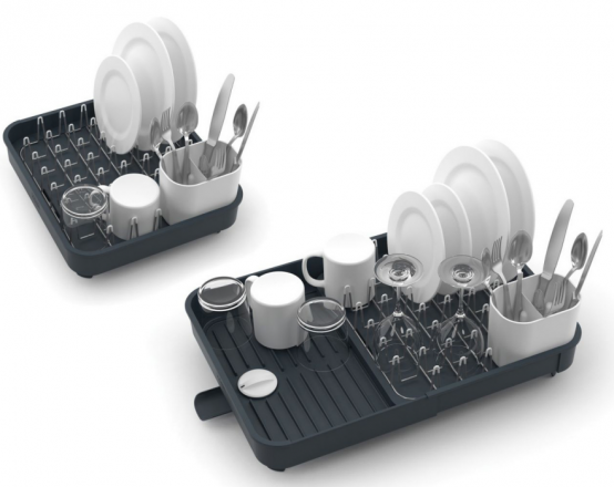 20 Small And Creative Dish Racks And Drainers   Expandable dish .