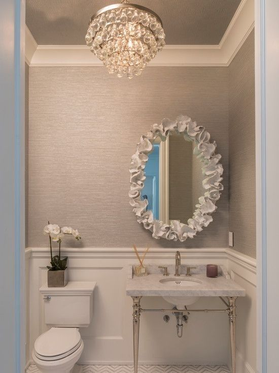 6 Ways to Give New Life to Old Ceilings | Powder room small .
