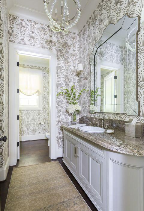 40 Stunning Powder Room Ideas - Half-Bath Decor & Design Phot