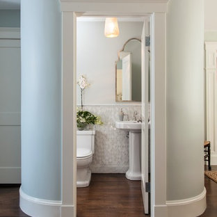 75 Beautiful Traditional Powder Room Pictures & Ideas - September .