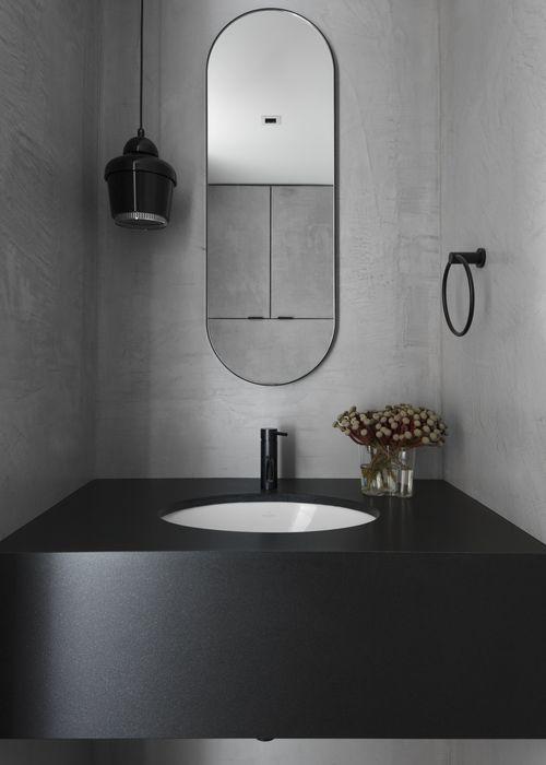 10 Gorgeous and Modern Powder Room Design Ideas #small #elegant .