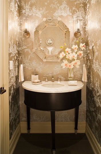 25 Gorgeous Powder Rooms That Can Amaze Anybody | DigsDigs .