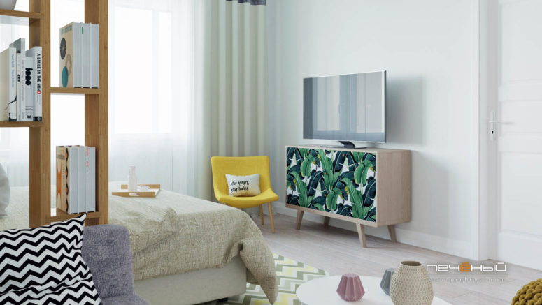 Small Modern Apartment For A Young Girl - DigsDi