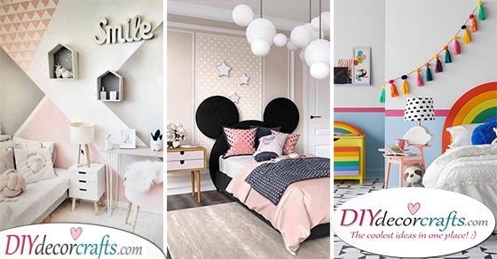 Toddler Girl Bedroom Ideas on a Budget - Little Girl Bedroom Dec