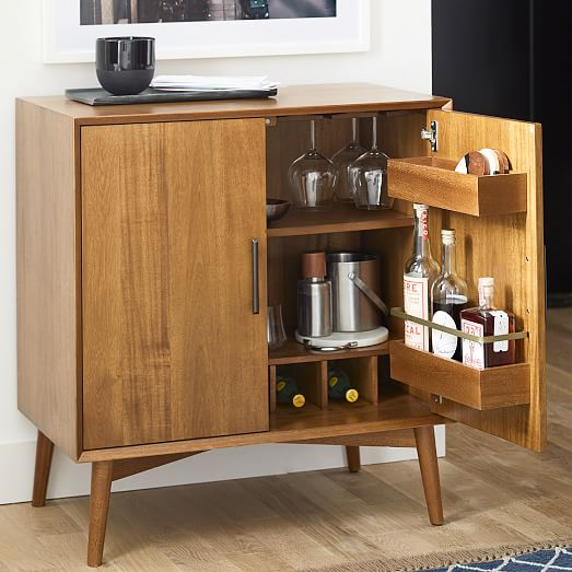 Mid-Century Bar Cabinet - Sma