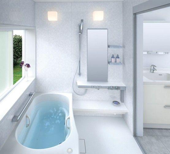 Small Bathroom Layouts by TOTO   リフォーム バスルーム, お風呂 .