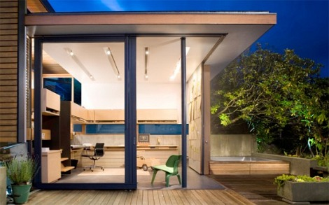 Home Office in a Courtyard – ARCHGEN.C