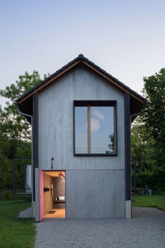 Small Wooden House With Smart Design And Mountain Views | Small .
