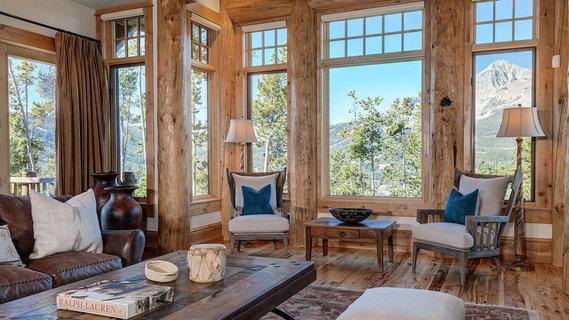 Six-Bedroom Mountain House in the Heart of Montana's Big Sky Ski .
