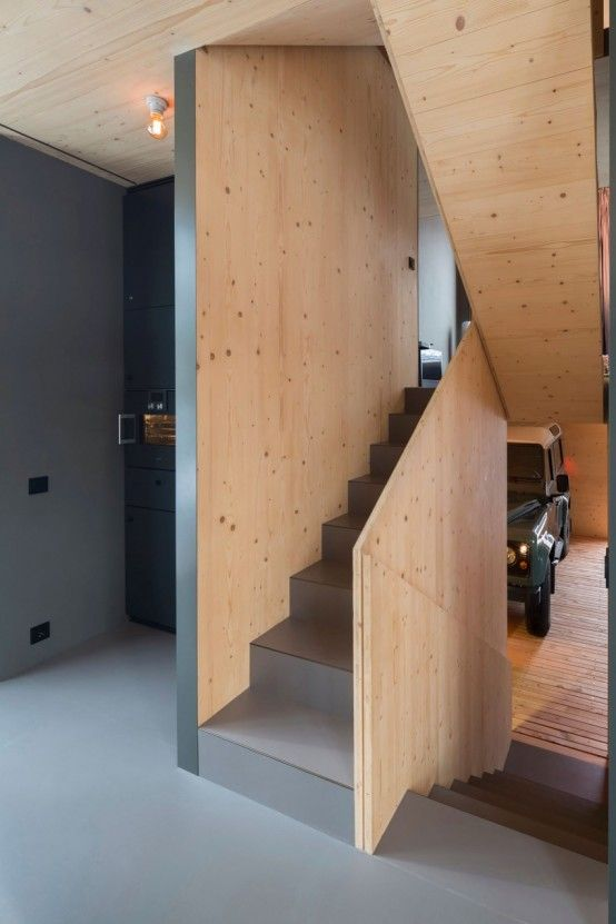 Small Wooden House With Smart Design And Mountain Views - DigsDigs .