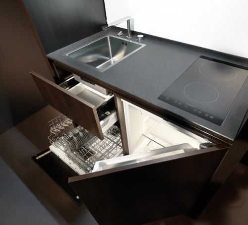 Design   Compact kitchen design, Small space kitchen, Compact kitch
