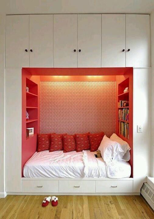 57 Smart Bedroom Storage Ideas - DigsDi