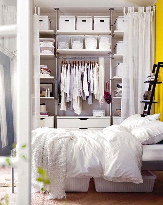 44 Smart Bedroom Storage Ideas   Bedroom organization storage, No .