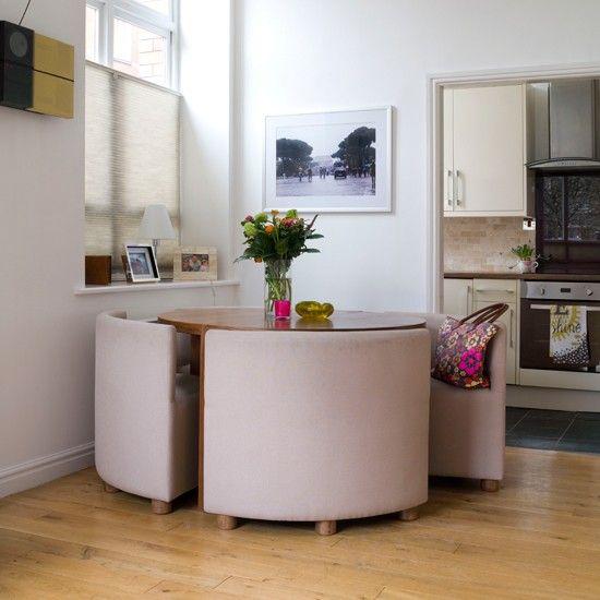 Smart compact dining room   Comedores modernos, Conjuntos de .