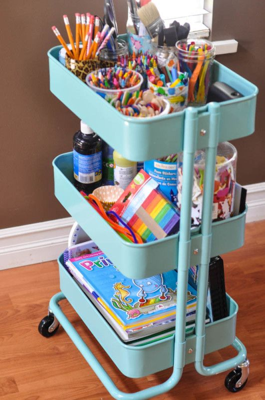 60 Smart Ways To Use IKEA Raskog Cart For Home Storage - DigsDi