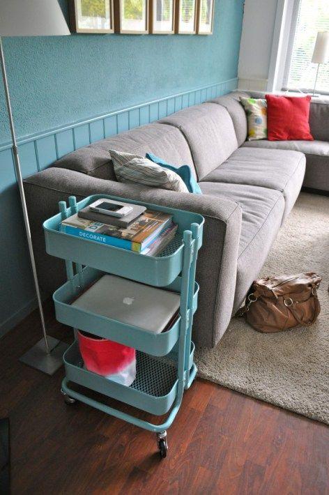 60 Smart Ways To Use IKEA Raskog Cart For Home Storage | Raskog .