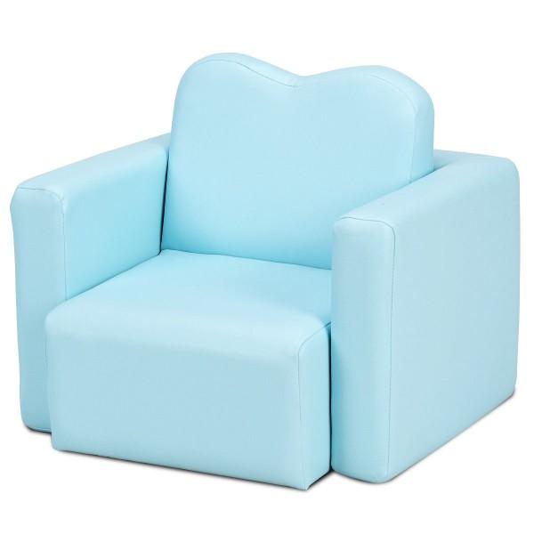 Multi-functional Kids Armchair Sofa Table & Chair Set - Sofas .