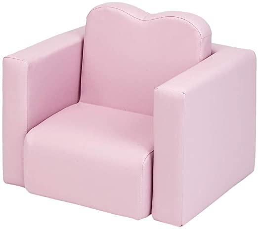 Amazon.com: Kids Sofa, Children Upholstered Chair, PVC Leather .