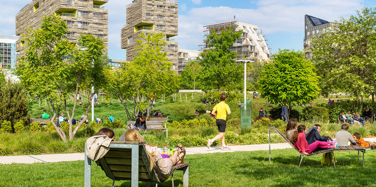 Paris is building the eco-community of the future right now .