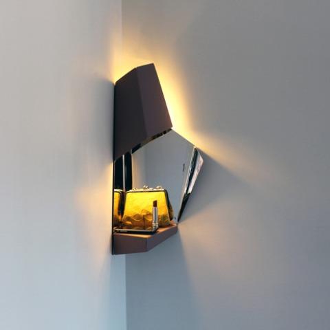 Space-Saving Corner Light For Hallways - DigsDi