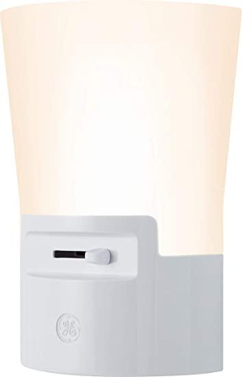 Amazon.com: GE Ultrabrite Dimmable Sconce LED Night Light GEPlug .