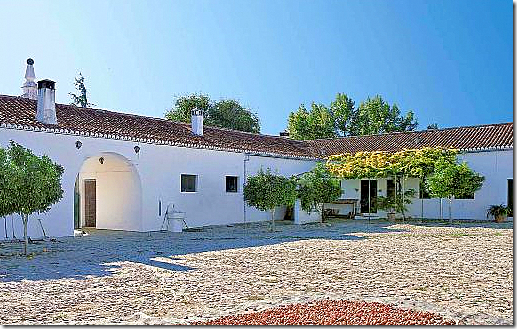 COTE DE TEXAS: Spanish Farmhouse – Then and N