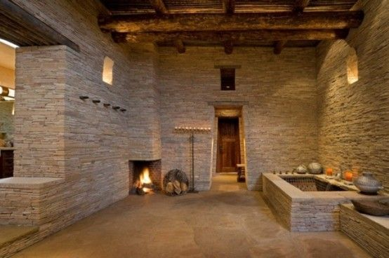 51 Inspiring Bathrooms With Fireplaces : 51 Spectacular Bathrooms .