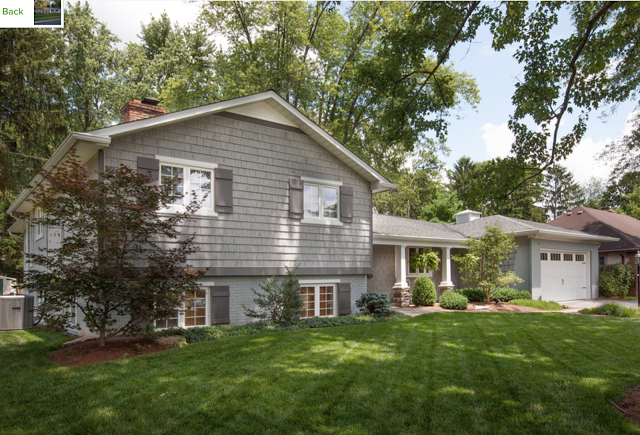 Gilded Mint   Exterior house remodel, Split level remodel exterior .