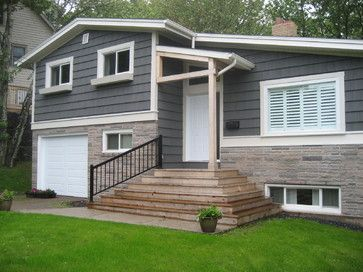 Side split - Traditional - Exterior - other metro - by NC Designs .