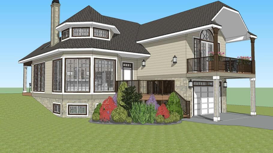 Split-Level House   3D Warehou