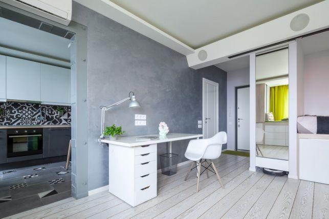 Design original si creativ intr-un apartament mic- Inspiratie in .
