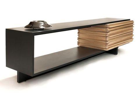 Stack Buffet sideboard by Esrawe Studio | Sideboard designs, Sleek .
