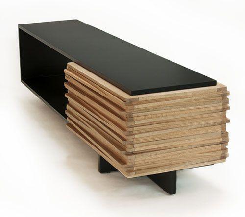 Stack Buffet by Hector Esrawe | Ideoita ... puusta | Sideboard .