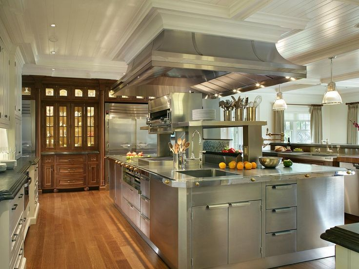 Get inspiration to makeover a kitchen into a professional chef .