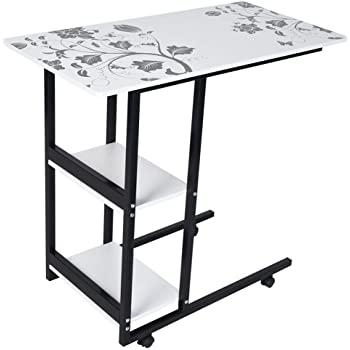 Amazon.com: Binory PC Computer Desk Laptop Standing Mobile Writing .