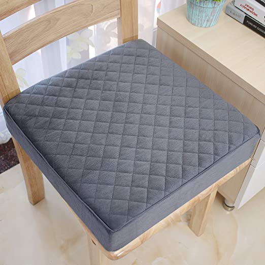 Amazon.com: COMFORTANZA Chair Seat Cushion - 16x16x3 Inches Pure .