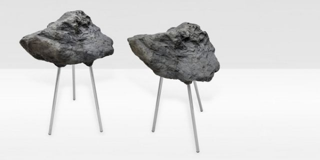 Stone Foam Stool: Looking Hard And Being Soft | DigsDigs | Soft .