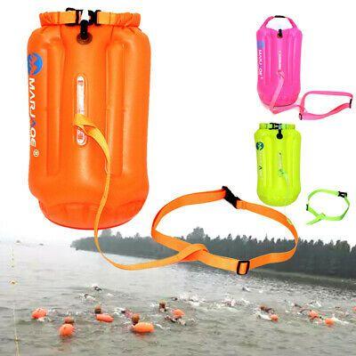 Advertisement(eBay) Waterproof Air Bag 20L Swim Buoy Swimming Tow .