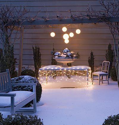 Creative Outdoor Christmas Lights   The Garden Glove   Outdoor .