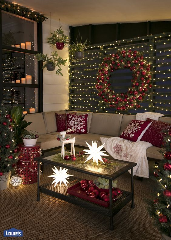 Make your screened porch glow this holiday season with these .