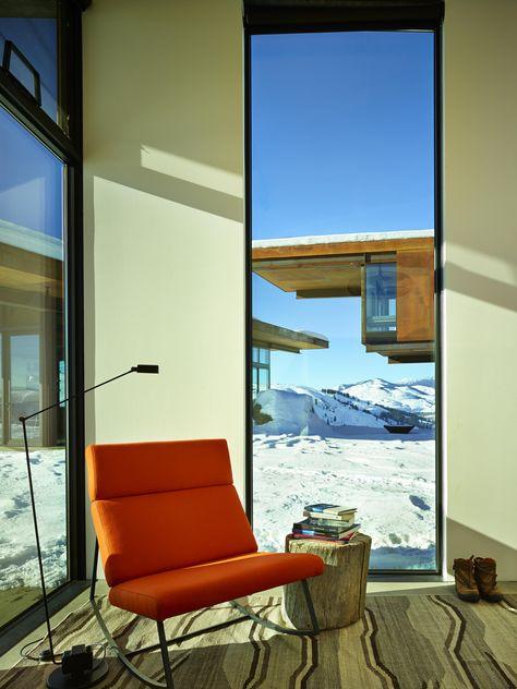 Studhorse by Olson Kundig | Home interior design, Living room .