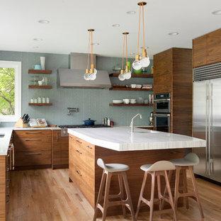 75 Beautiful Mid-Century Modern Kitchen Pictures & Ideas .
